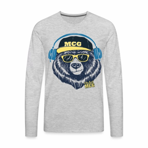 MCG BEAR - Men's Premium Long Sleeve T-Shirt