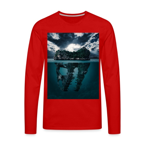 Lost Sea - Men's Premium Long Sleeve T-Shirt