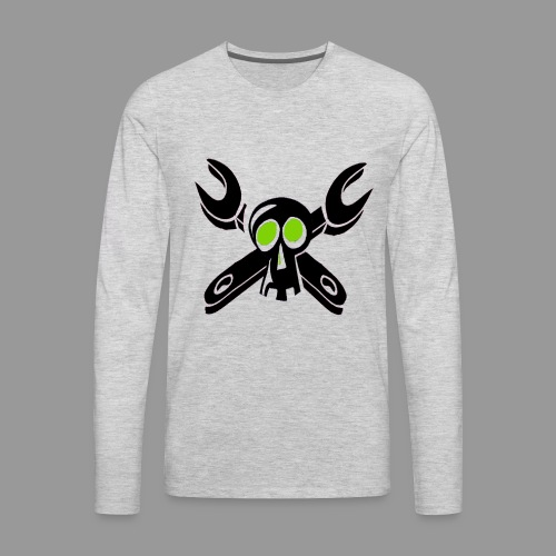 Grease Monkey - Men's Premium Long Sleeve T-Shirt
