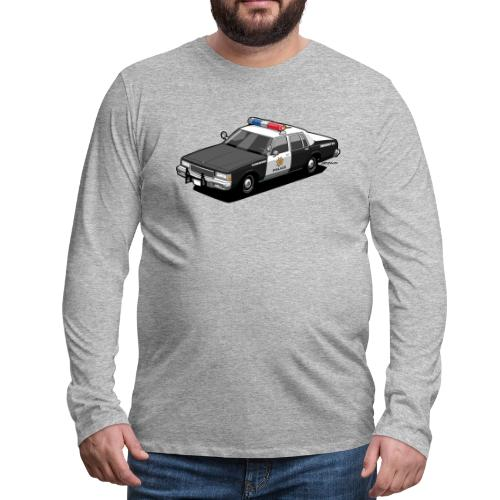 Caprice Classic Police Ca - Men's Premium Long Sleeve T-Shirt