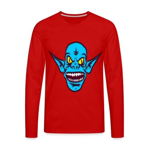 Alien Troll - Men's Premium Long Sleeve T-Shirt
