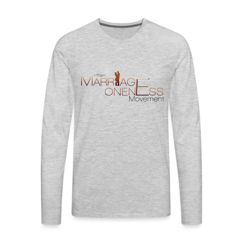 The Marriage Oneness Movement T-shirt - Men's Premium Long Sleeve T-Shirt