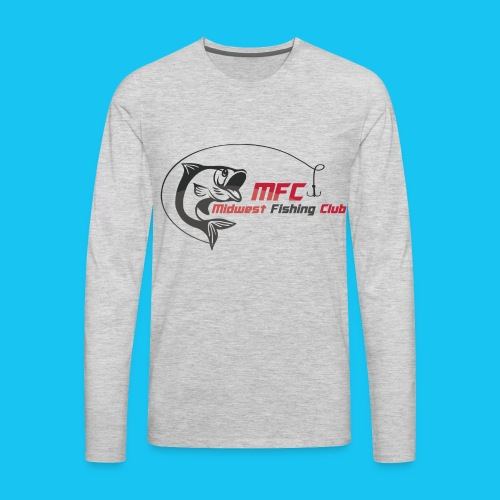 Midwest Fishing Club - Men's Premium Long Sleeve T-Shirt