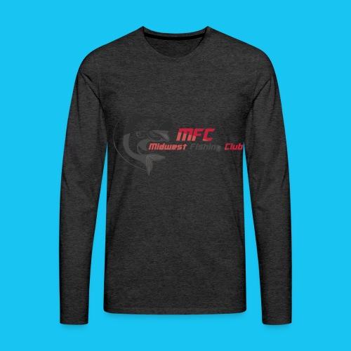 Midwest Fishing Club - Men's Premium Long Sleeve T-Shirt