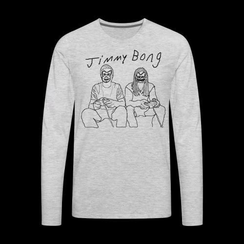 jimmy bong rivals - Men's Premium Long Sleeve T-Shirt