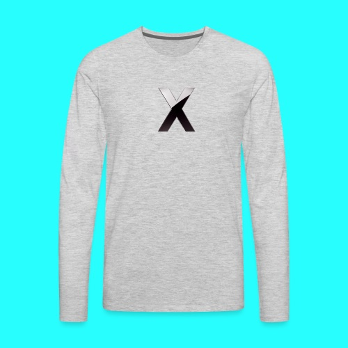 XumzyLOGO - Men's Premium Long Sleeve T-Shirt