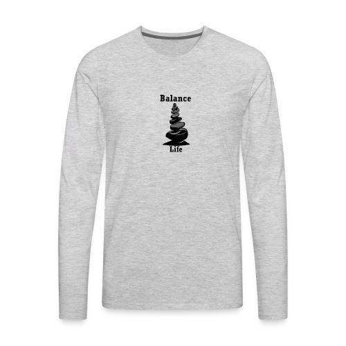 Balance Life - Men's Premium Long Sleeve T-Shirt