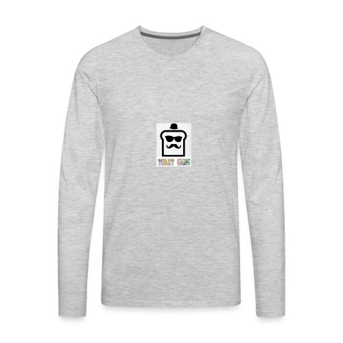 Toast Gang logo - Men's Premium Long Sleeve T-Shirt