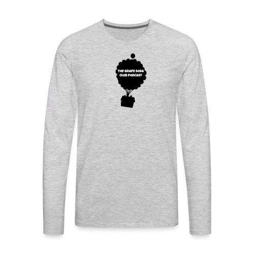 Grape Soda Podcast - Men's Premium Long Sleeve T-Shirt