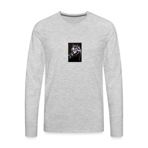 Wolf Pack Merch - Men's Premium Long Sleeve T-Shirt