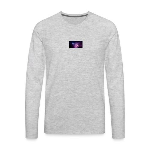 wallpaper for YT BANNER - Men's Premium Long Sleeve T-Shirt