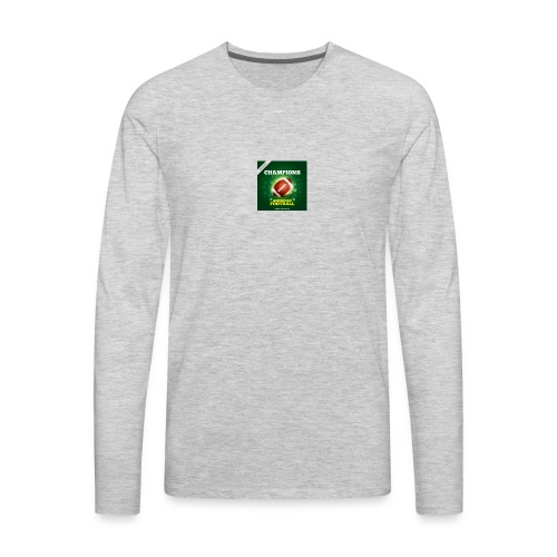 American Football ball - Men's Premium Long Sleeve T-Shirt