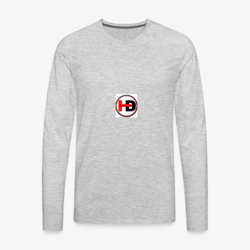 HDGaming - Men's Premium Long Sleeve T-Shirt