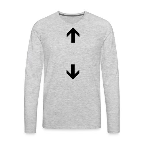 My gender is here T-Shirt - Men's Premium Long Sleeve T-Shirt