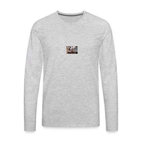 funny guinea pig - Men's Premium Long Sleeve T-Shirt