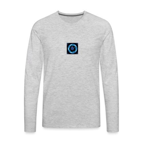 MY YOUTUBE LOGO 3 - Men's Premium Long Sleeve T-Shirt