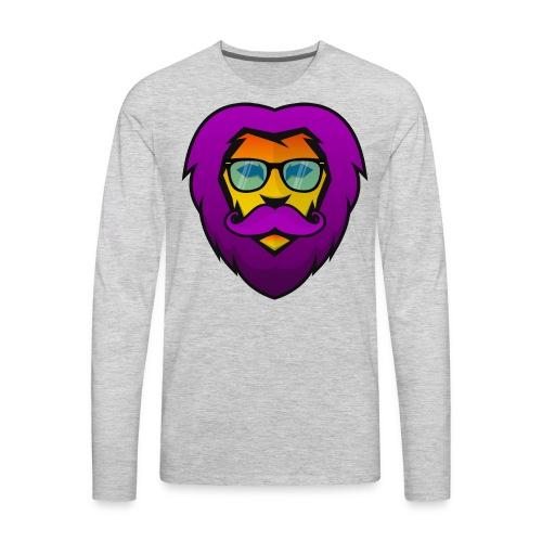 Pride Lion - Men's Premium Long Sleeve T-Shirt