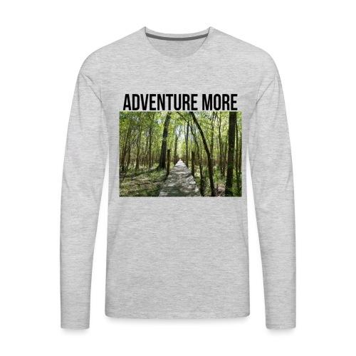 adventure more - Men's Premium Long Sleeve T-Shirt