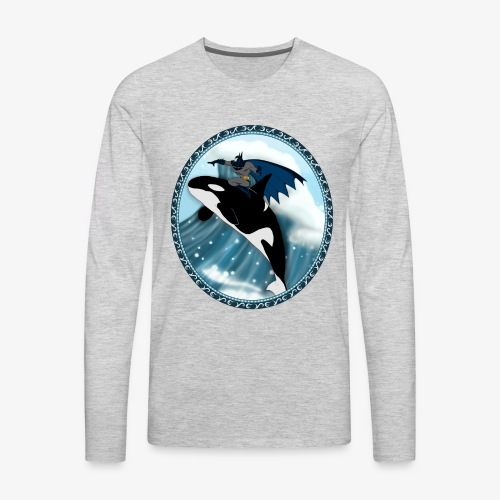 Nananana BATMAN - Men's Premium Long Sleeve T-Shirt