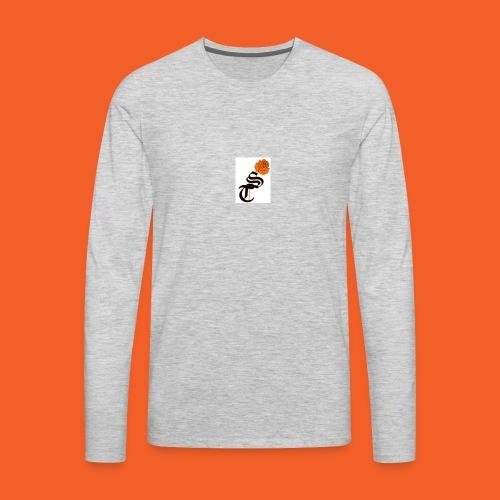 ST rose design - Men's Premium Long Sleeve T-Shirt
