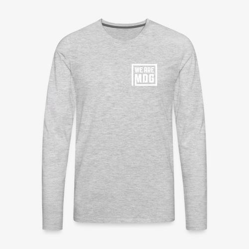 MDG Pocket Stamp - Men's Premium Long Sleeve T-Shirt