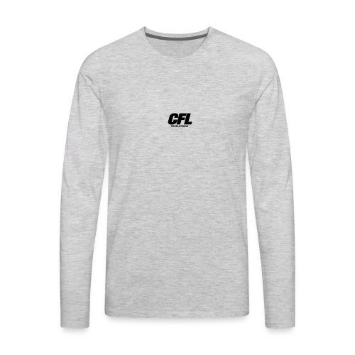 CFL Productions 2017 - Small logo size - Men's Premium Long Sleeve T-Shirt
