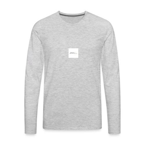 YouTube Channel - Men's Premium Long Sleeve T-Shirt