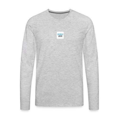 Nicholas Jones Logo Store - Men's Premium Long Sleeve T-Shirt