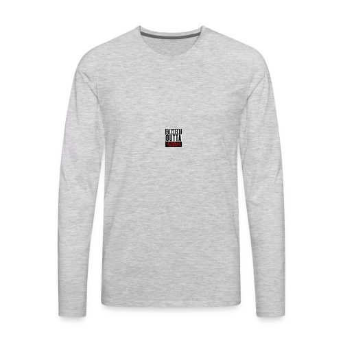 straight outta sheeps - Men's Premium Long Sleeve T-Shirt