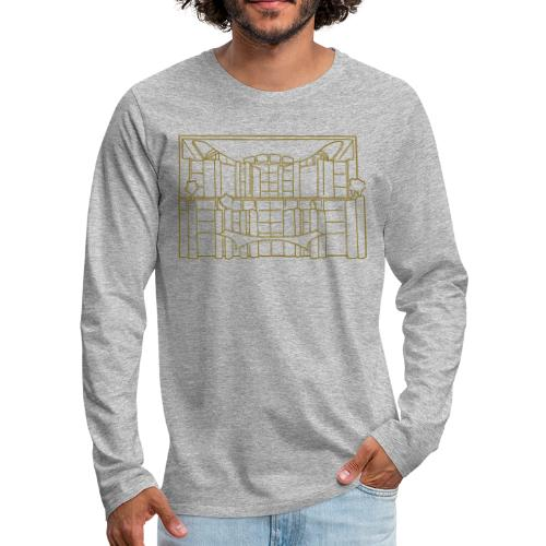 Chancellery in Berlin - Men's Premium Long Sleeve T-Shirt
