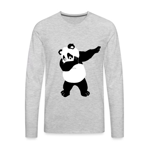 Dabbing Bear - Men's Premium Long Sleeve T-Shirt