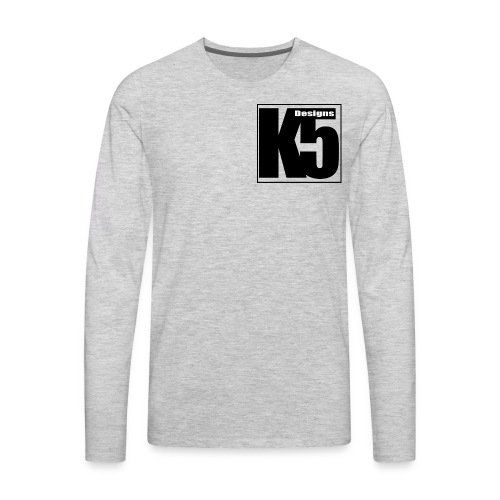 K5 Designs - Men's Premium Long Sleeve T-Shirt