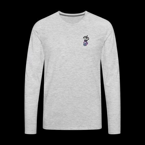 Falling Roses - Men's Premium Long Sleeve T-Shirt