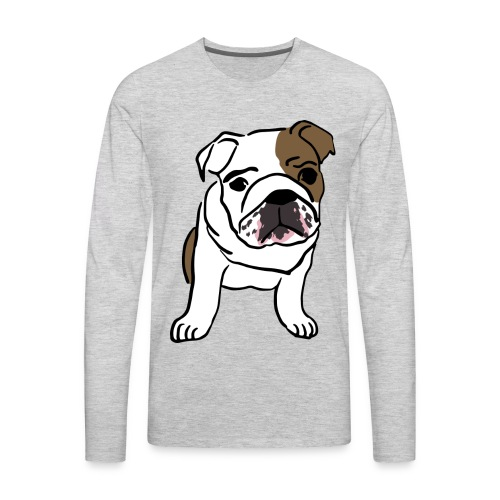 Cute Pug - Men's Premium Long Sleeve T-Shirt