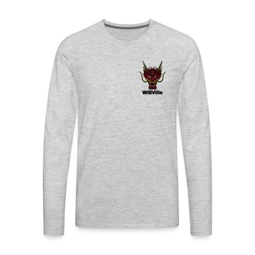 Red Dragon/WillVille - Men's Premium Long Sleeve T-Shirt