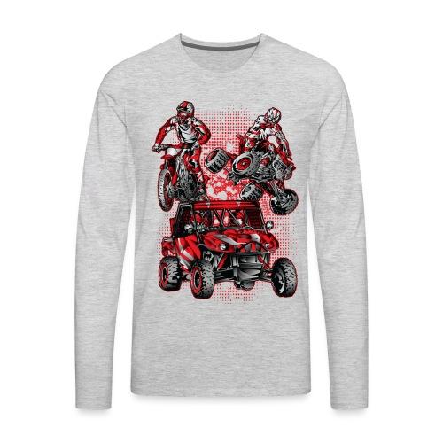 Extreme Stunts Motorsports - Men's Premium Long Sleeve T-Shirt