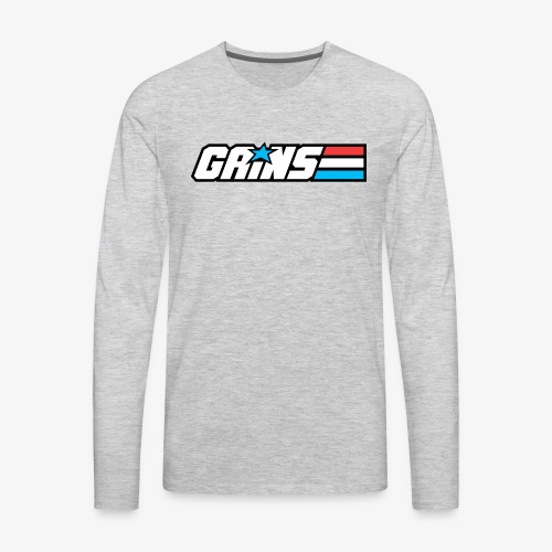 Gains Joe - Men's Premium Long Sleeve T-Shirt