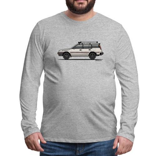 Ayota AE95 4WD Wagon - Men's Premium Long Sleeve T-Shirt