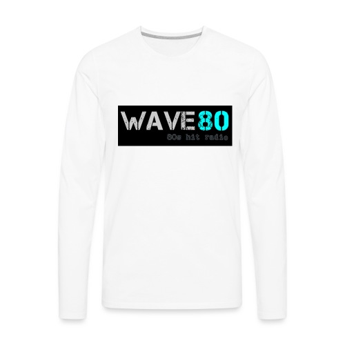 Main Logo - Men's Premium Long Sleeve T-Shirt