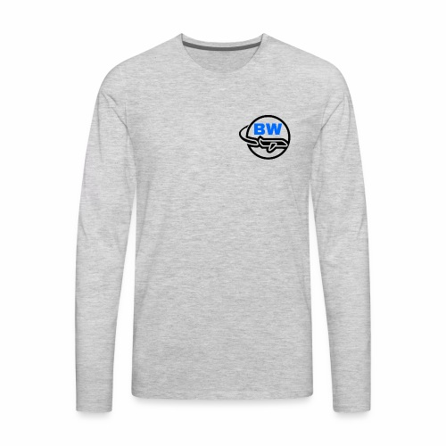 BW Logo - Men's Premium Long Sleeve T-Shirt