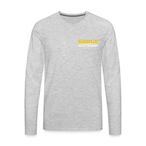 Dance Channel TV Logo - Men's Premium Long Sleeve T-Shirt