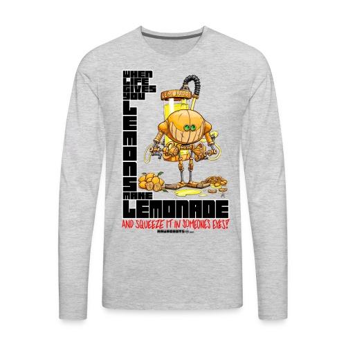 Lemonade Robot!🍋 - Men's Premium Long Sleeve T-Shirt