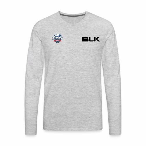 WeSpeakRugby Logo Hoodie - Men's Premium Long Sleeve T-Shirt