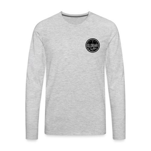 Globar Trotter - Signature Logo - Men's Premium Long Sleeve T-Shirt