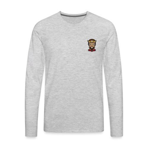Small Left Chest - Men's Premium Long Sleeve T-Shirt
