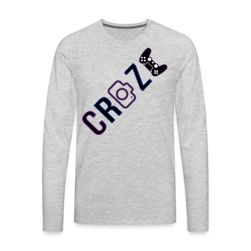 Craze 2018 logo - Men's Premium Long Sleeve T-Shirt