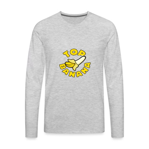 TOP BANANA - Men's Premium Long Sleeve T-Shirt
