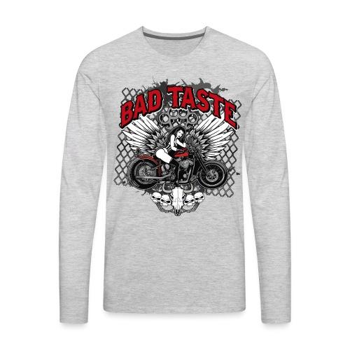 Biker Chick - Men's Premium Long Sleeve T-Shirt