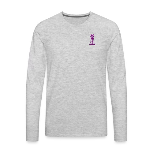 Oil Derrick - Men's Premium Long Sleeve T-Shirt