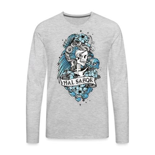 Catrina Colored - Men's Premium Long Sleeve T-Shirt